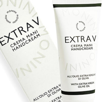 """Monini Extra V Cosmetics. international pay-off: """"Cosmetics speaking to the skin in its own language."""""""