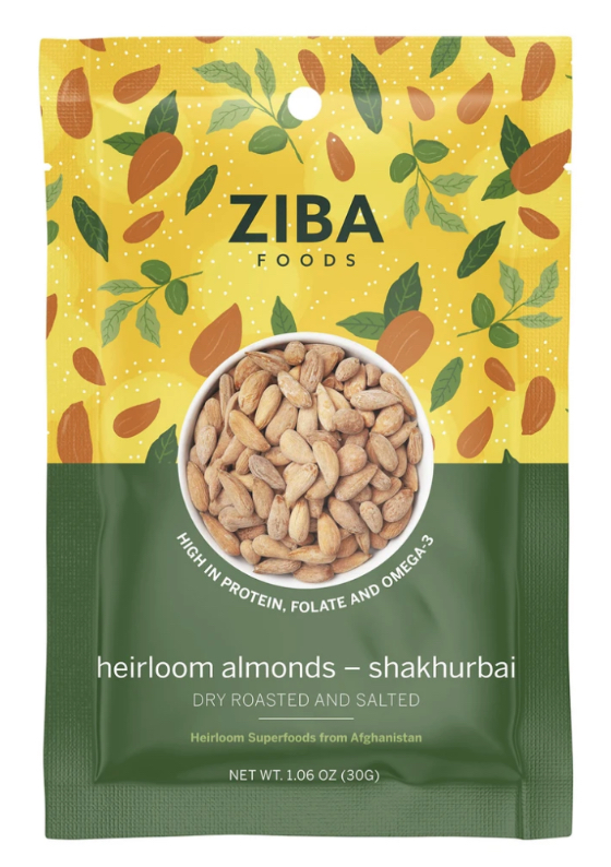 PRESENTING THE NEW PACKAGING DESIGN FOR ZIBA FOODS
